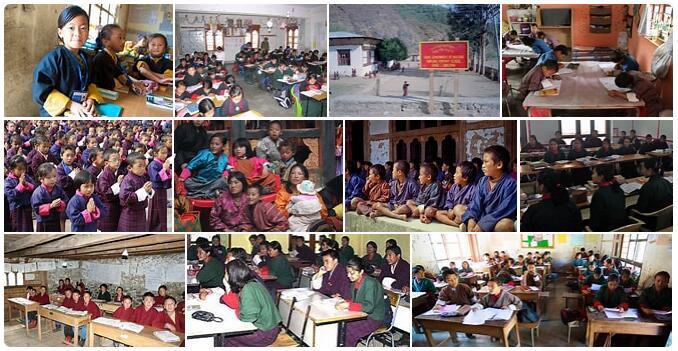 Bhutan Schooling
