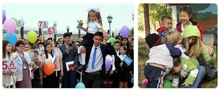 Kyrgyzstan Schooling