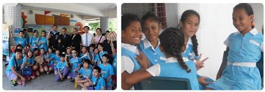 Tuvalu Schooling