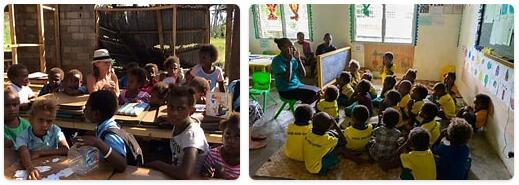 Vanuatu Schooling