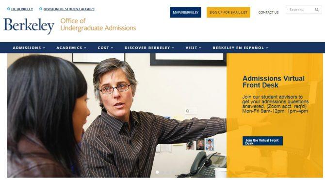 Admissions - UC Berkeley