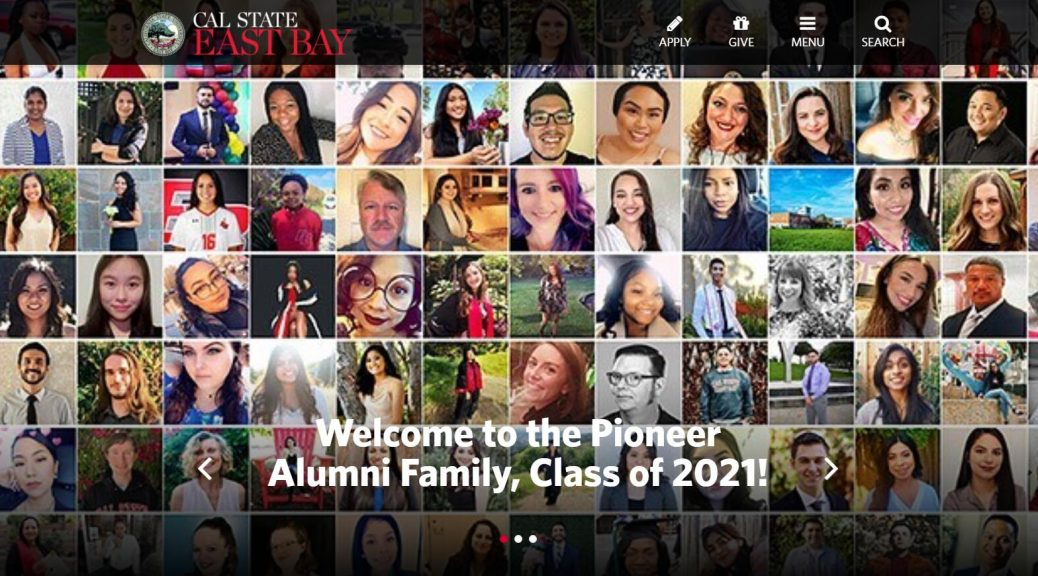 Cal State East Bay Alumni - California State University, East Bay