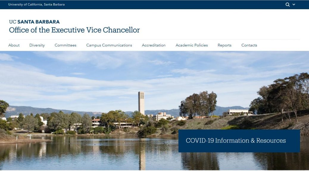 UCSB Office of the Executive Vice Chancellor