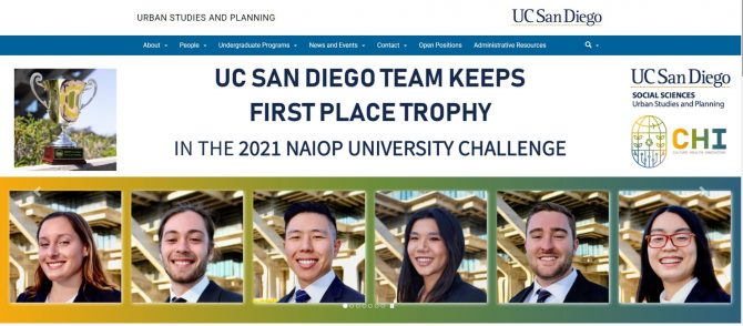 UCSD Urban Studies and Planning