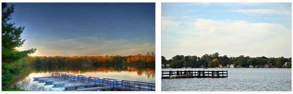 Lansing and Lake Michigan